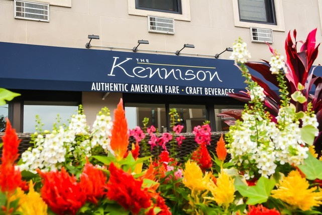 The Kennison, patio