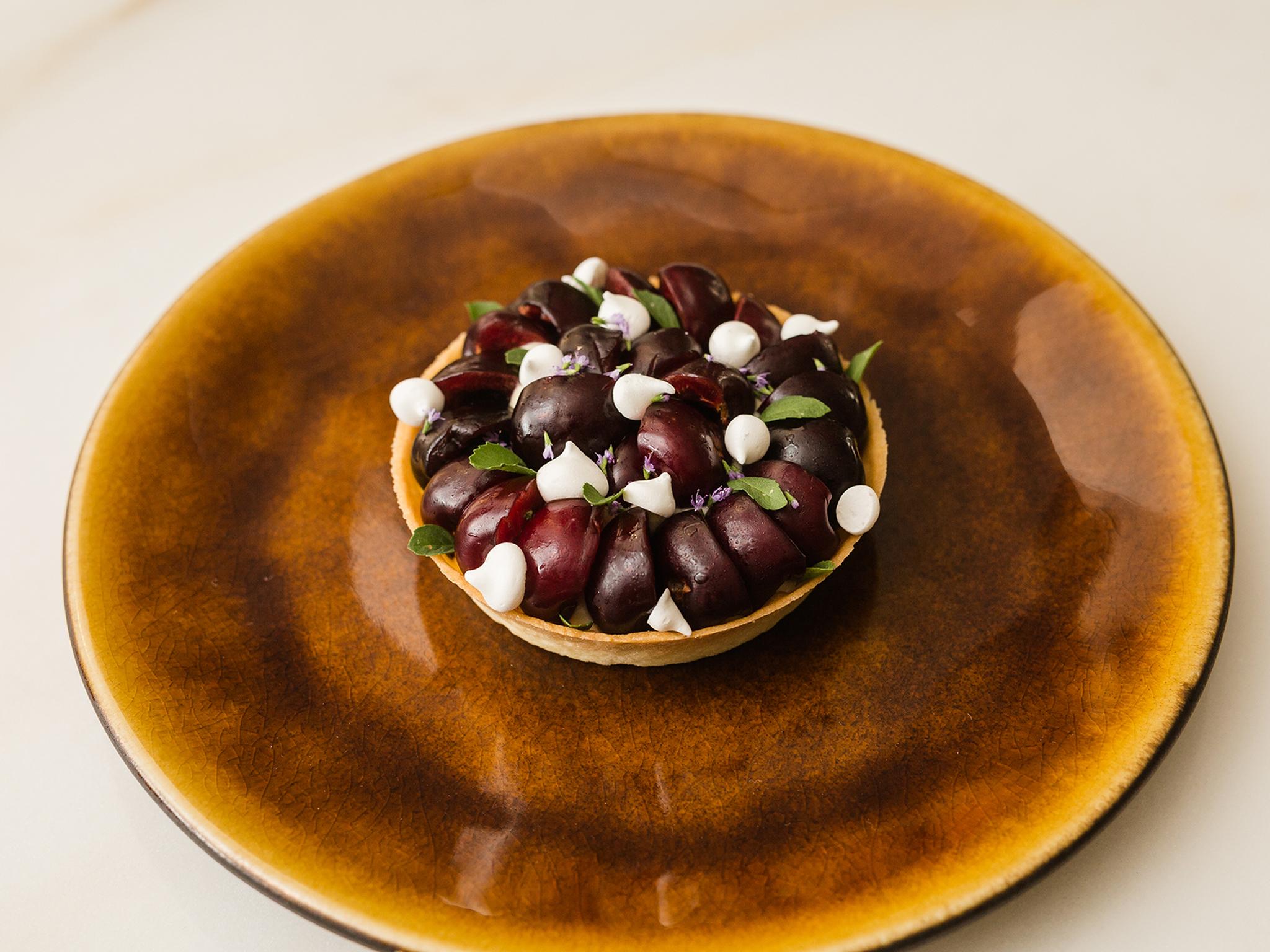 Sobremesa, Tartelete de cerejas e poejo, Essencial
