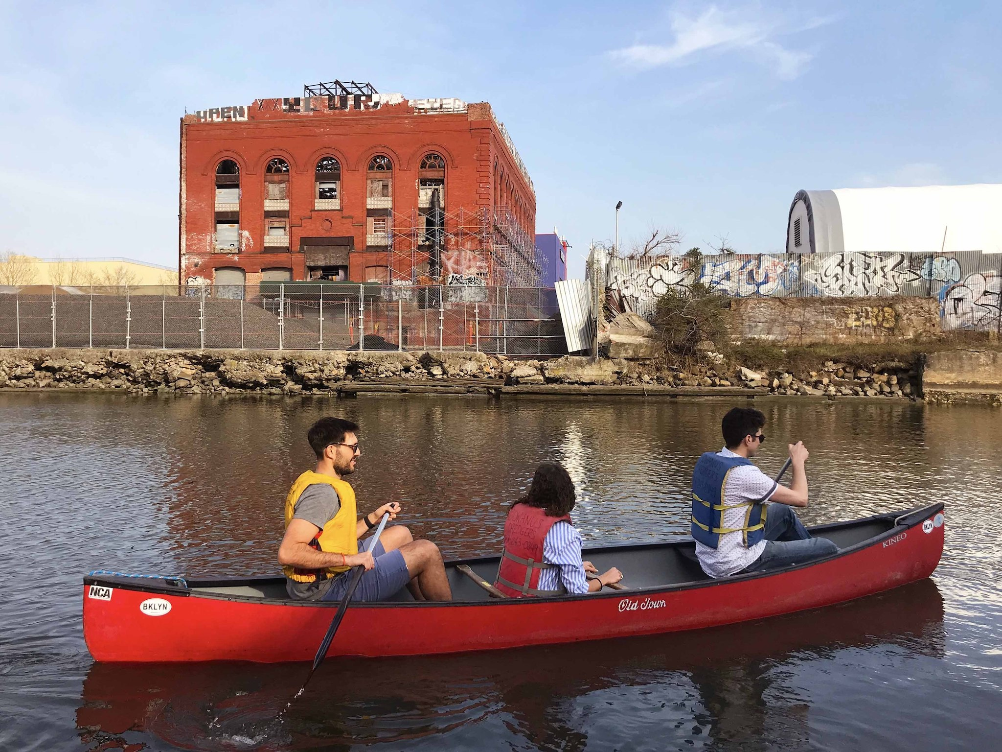 New York, Gowanus Canal, canoe, Untapped New York, The Gowanus Dredgers, EPA