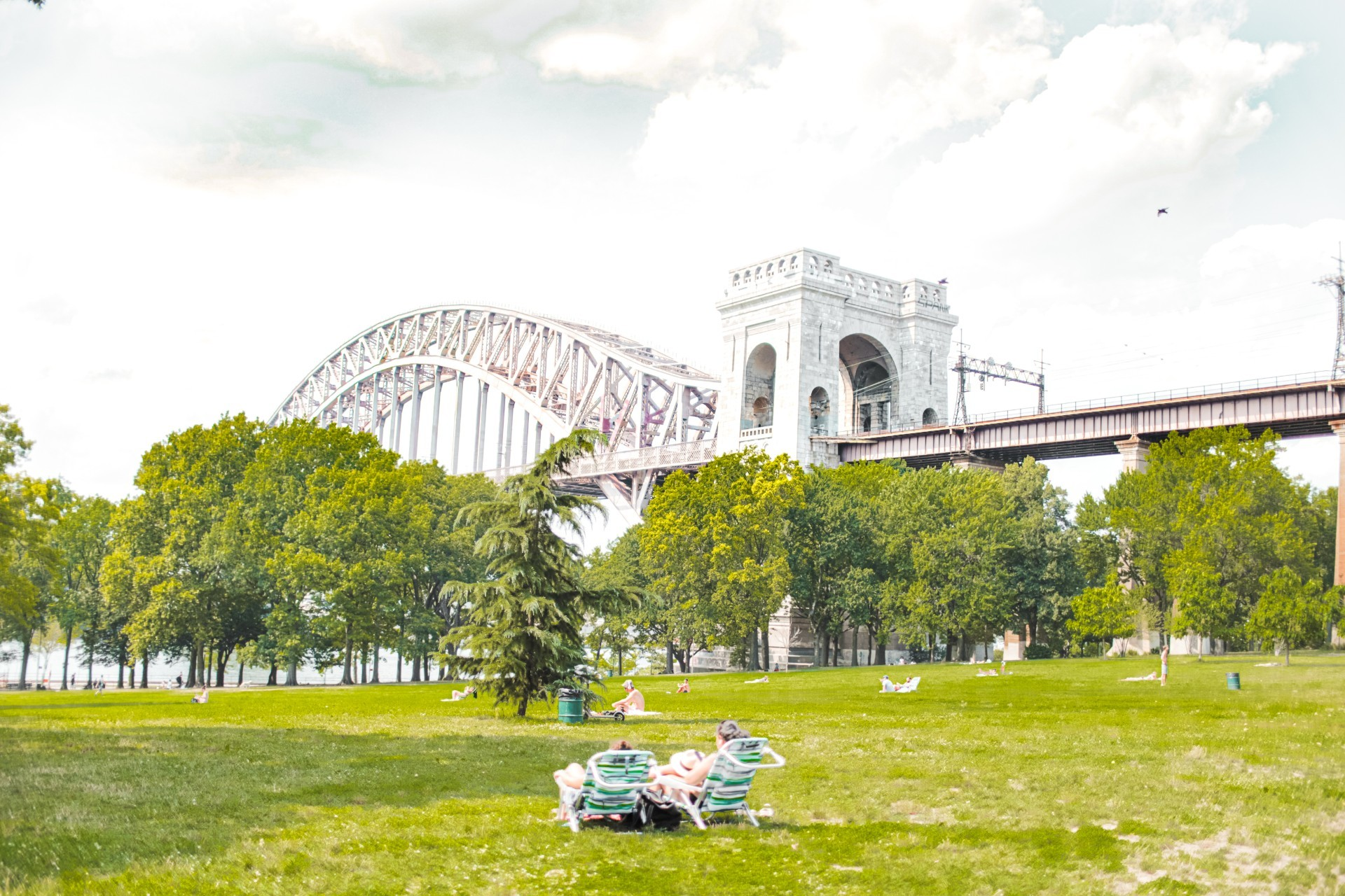 Astoria Park Hell Gate Bridge