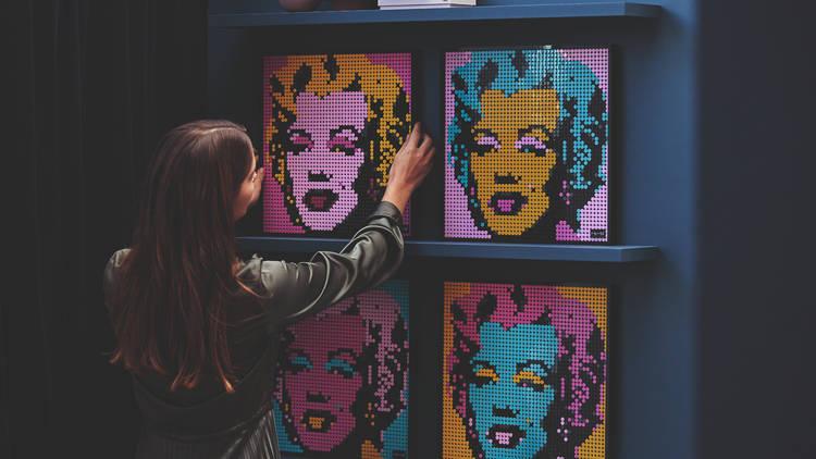 Lego Art Andy Warhol
