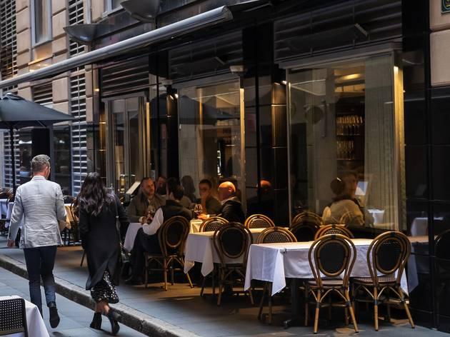 Outside at Restaurant Leo