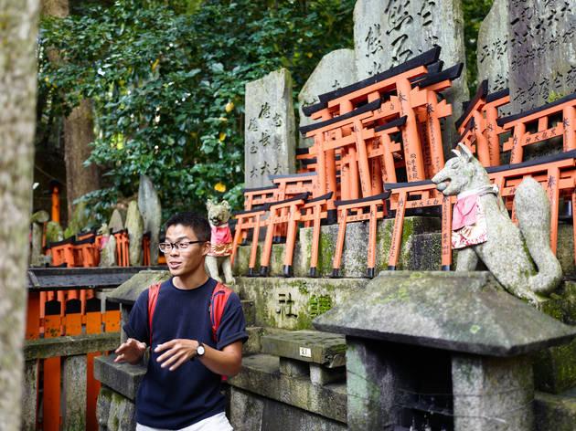 This Singaporean brings you on a virtual tour of Kyoto's sacred mountain