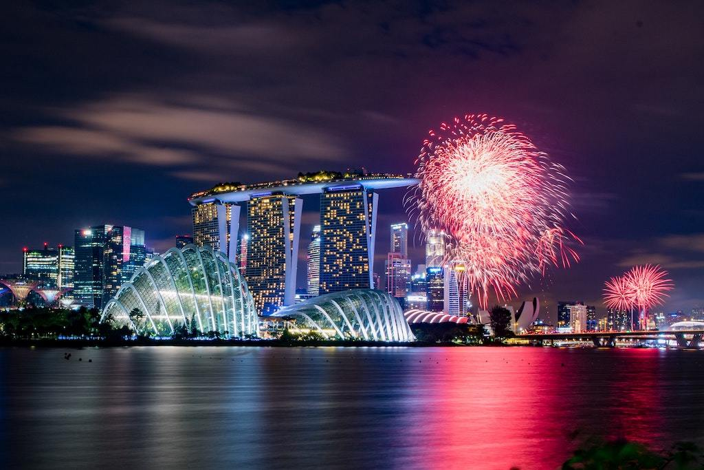 The best places to catch NDP fireworks for free on National Day in Singapore
