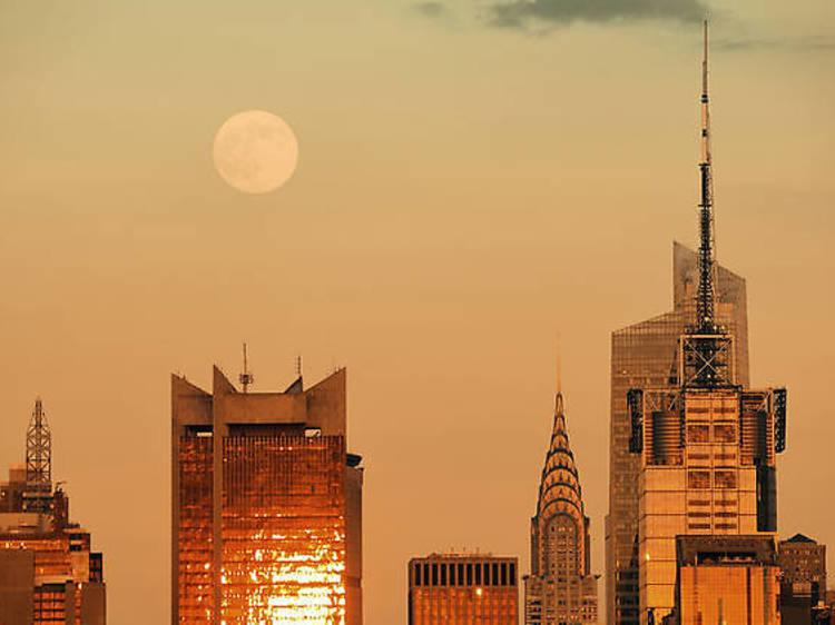 "Le 1er octobre : la micro-lune dite ""lune de la moisson"""