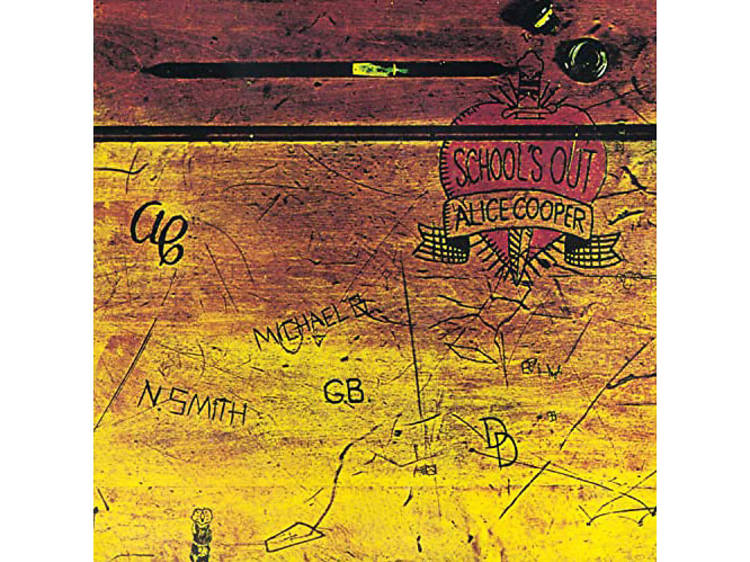 """""""School's Out for Summer"""" by Alice Cooper"""