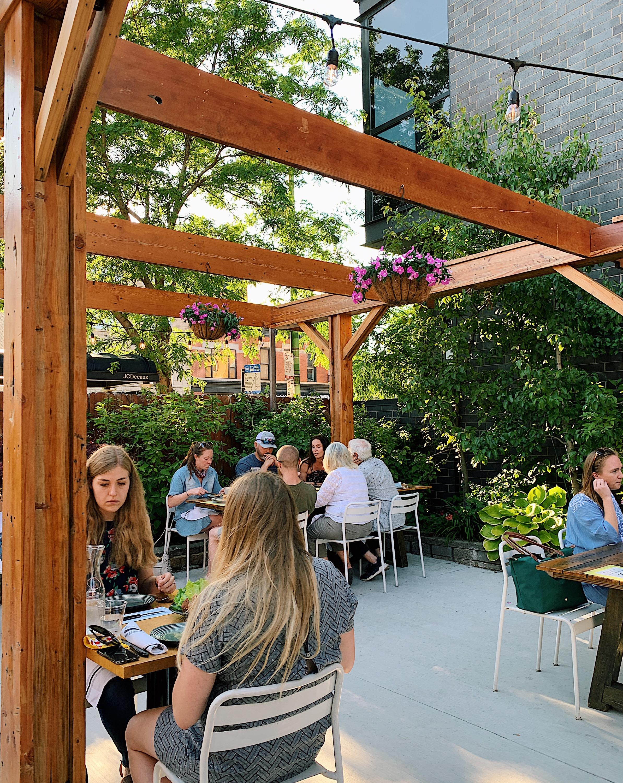 Mott St., patio, Casey VanderStel