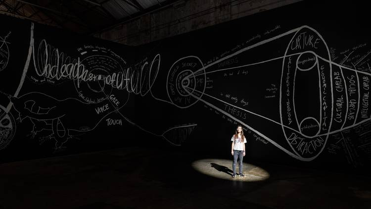 Giselle Stanboroug's 'Cinopticon' at the newly reopened Carriageworks