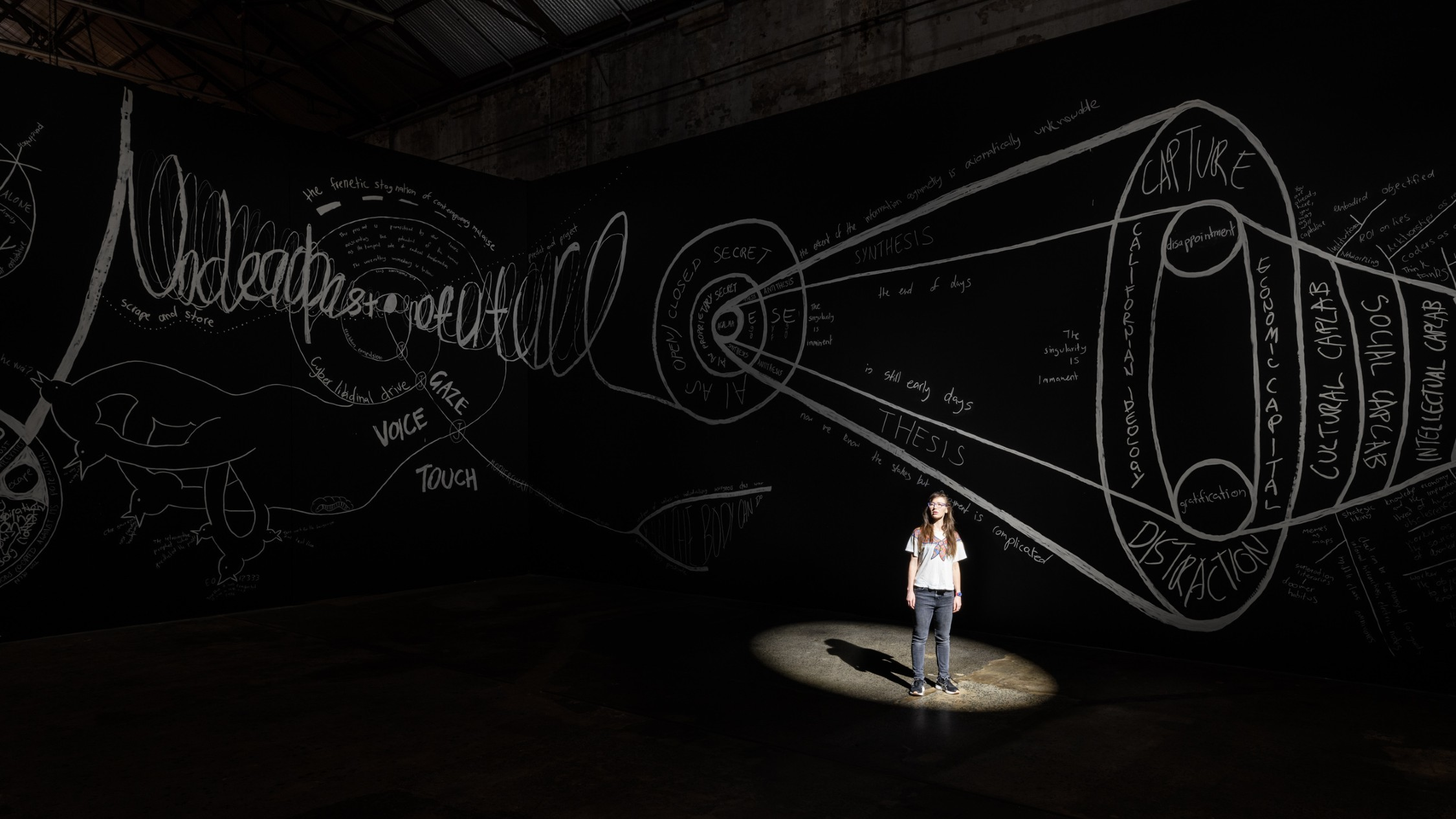 Carriageworks will officially reopen next week with a newly installed Biennale show