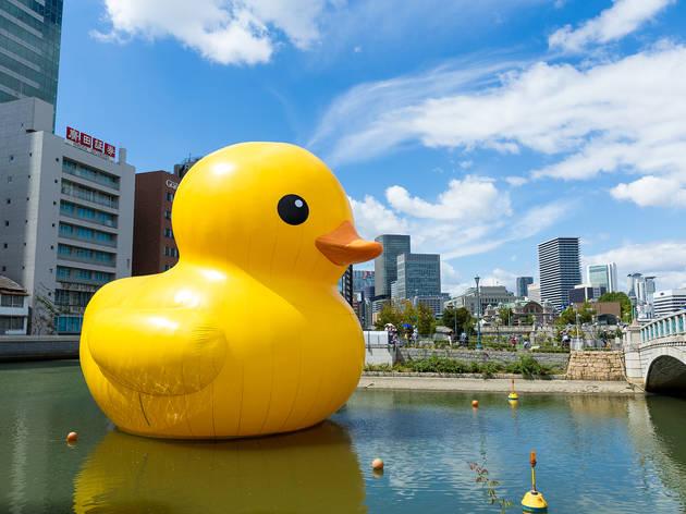 世界を旅するアヒル、ラバー・ダックが8月に大阪へ