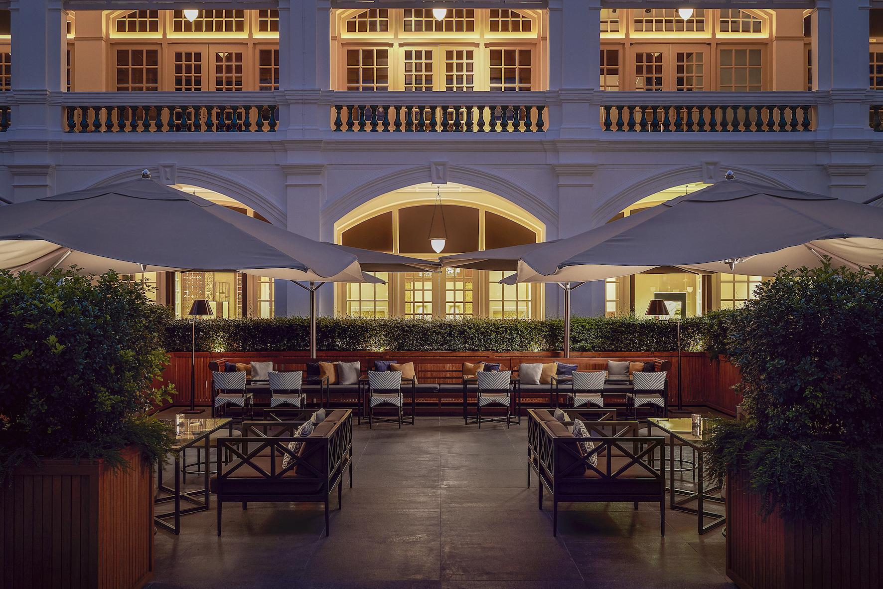 Raffles Courtyard