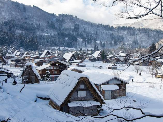 The most beautiful places in Japan