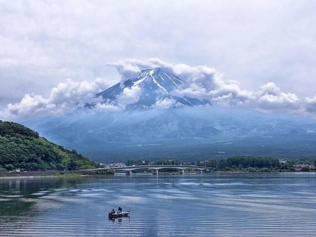 Mt Fuji Lake Kawaguchiko