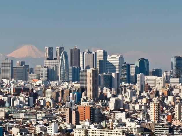Tokyo Shinjuku skyline