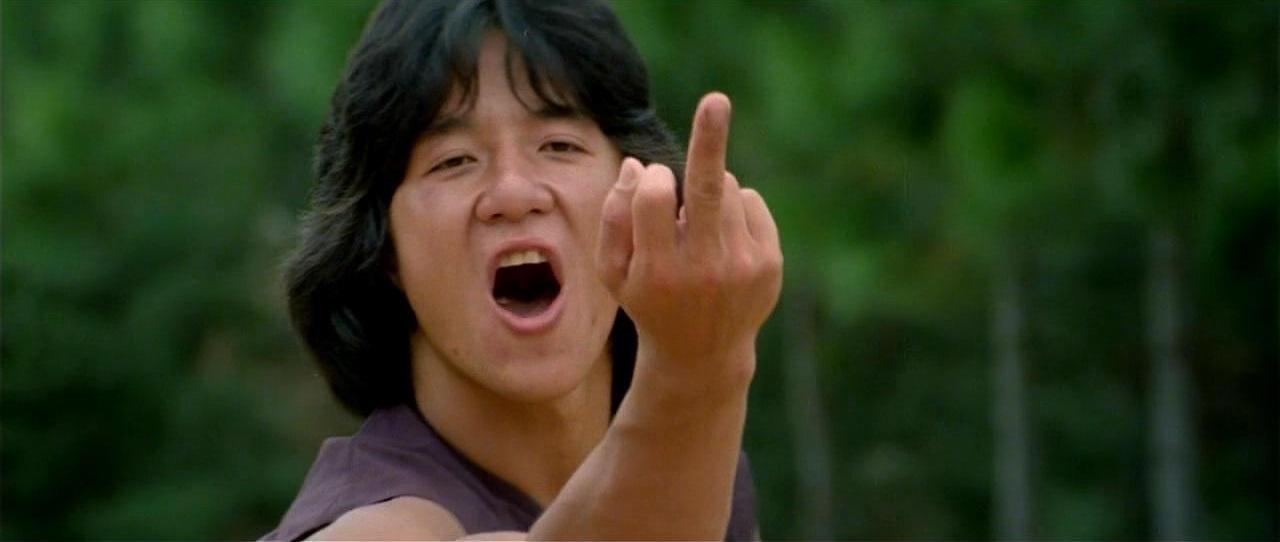 Drunken Master still Jackie Chan