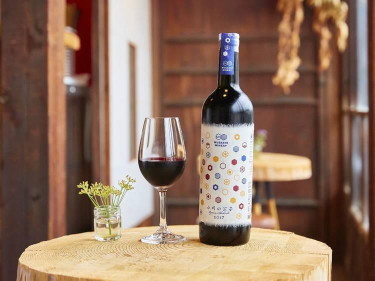 ワインは角打ちで堪能する。