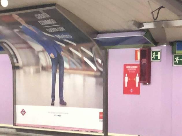 La campaña del Metro de Madrid ha despertado burlas en Twitter
