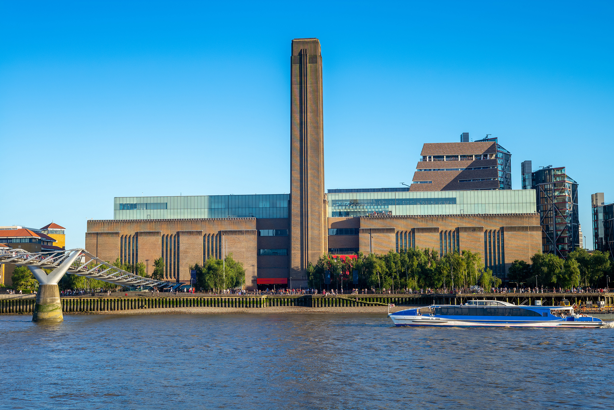 The Tate Modern and Tate Britain reopen in London today