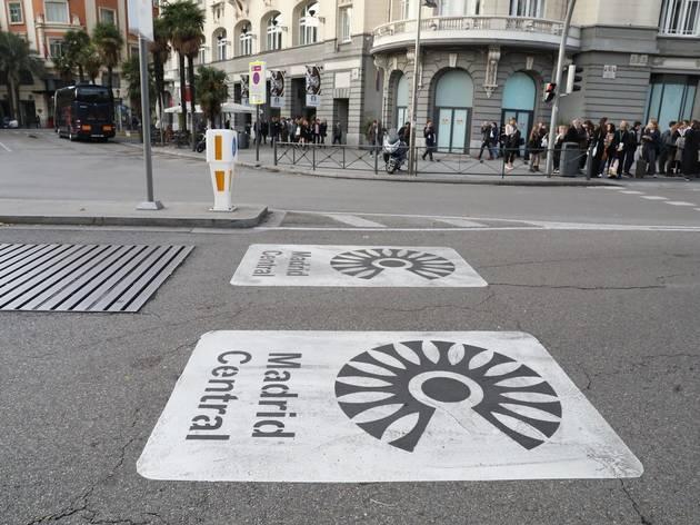 ¿Me pueden multar si circulo por Madrid Central?