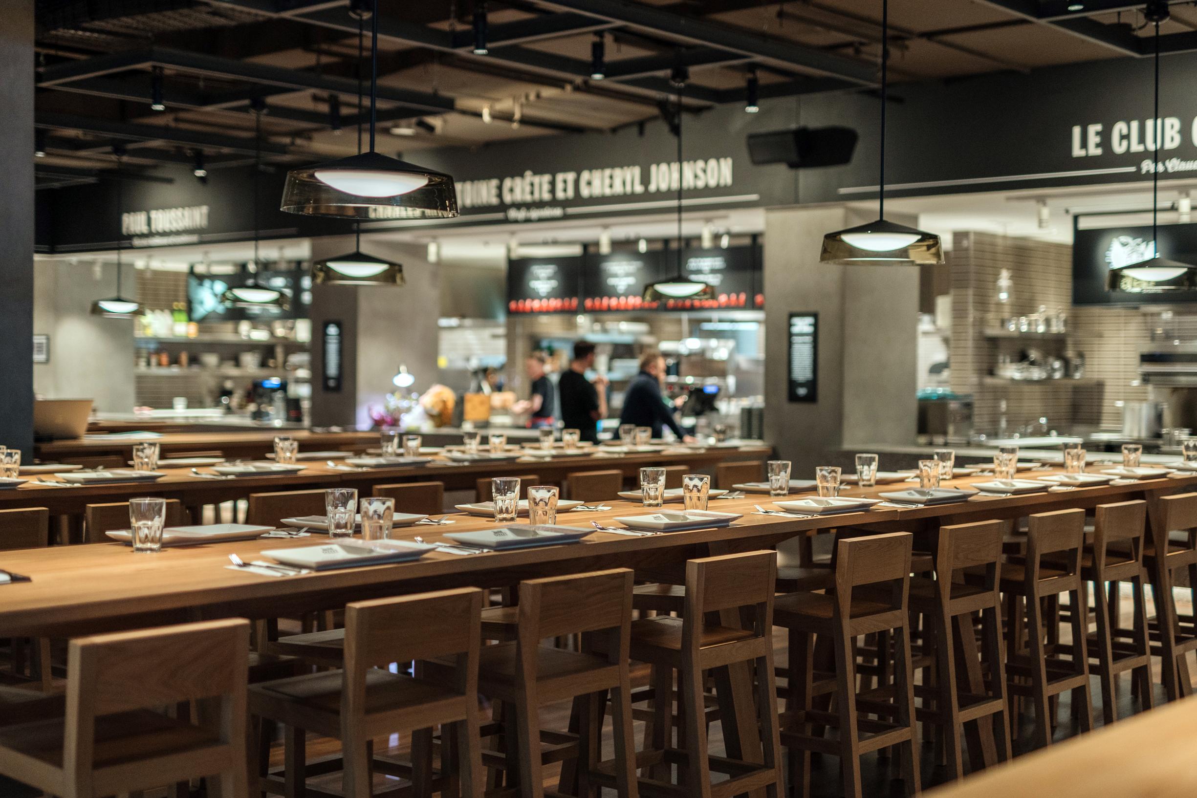 Votre table est prête : Time Out Market Montréal prend maintenant les réservations