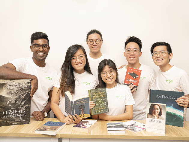 Buy and trade pre-loved books easily with Singapore's first sustainable online bookstore