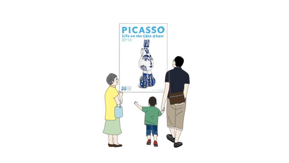 ピカソ:コート・ダジュールの生活