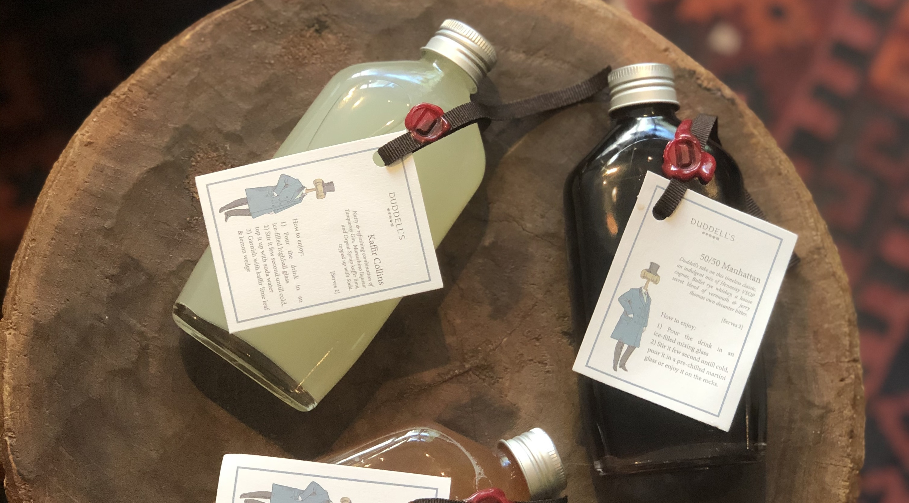 Duddell's bottled cocktail