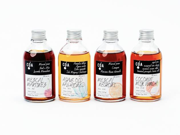 Coa bottled cocktails