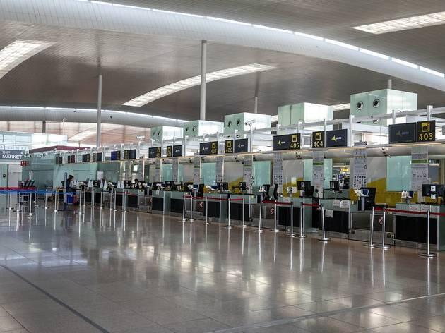 Aeroport Josep Tarradellas - Prat buit