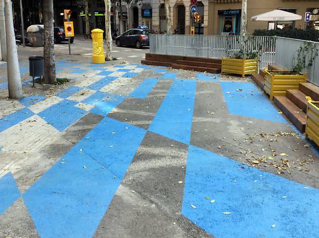 Barcelona pacificarà l'entorn de 22 escoles