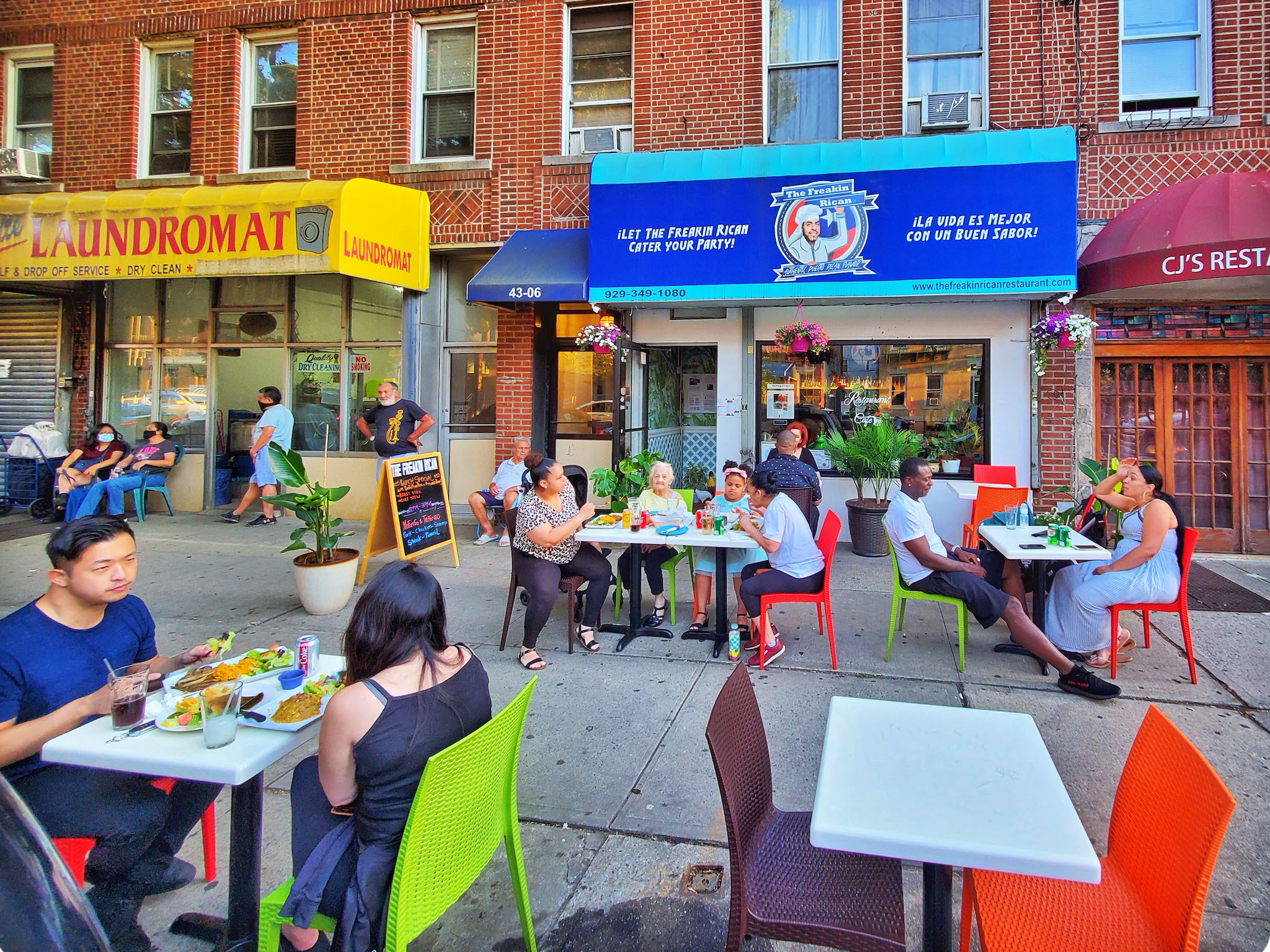 5 great outdoor dining spots in Astoria