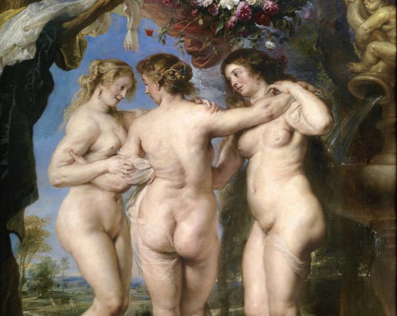 The Three Graces, Peter Paul Rubens