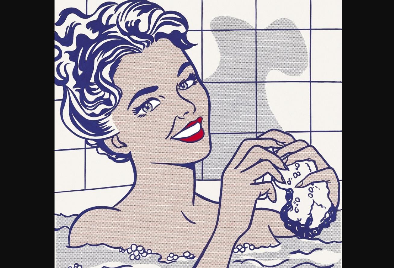 Woman in Bath, Roy Lichtenstein