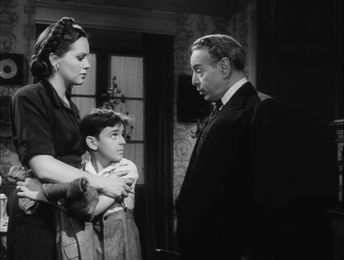 Escena de la película una mujer sin amor.