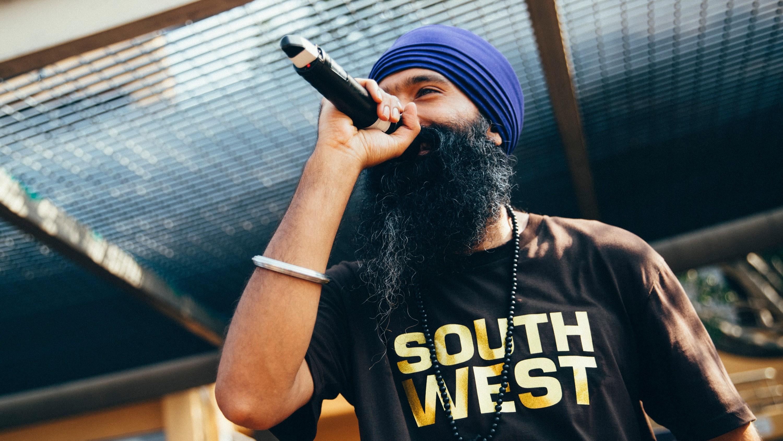 Sydney hip-hop artist L-Fresh the Lion