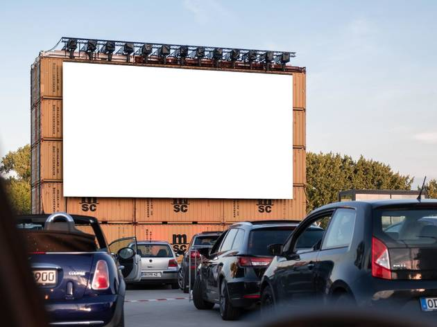 This drive-in theater in Wynwood is playing all of your favorite old movies