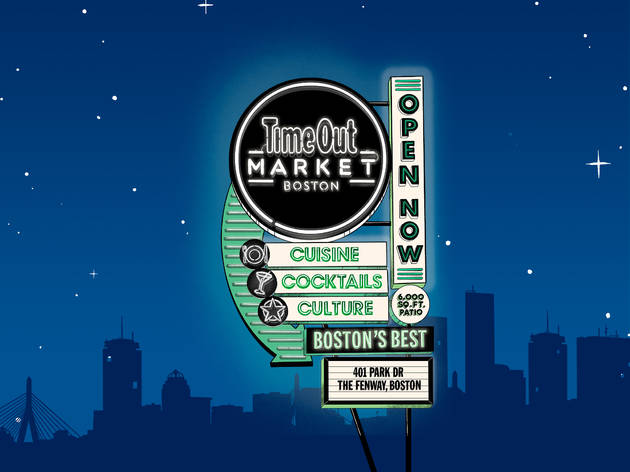 Time Out Market Boston is now open!