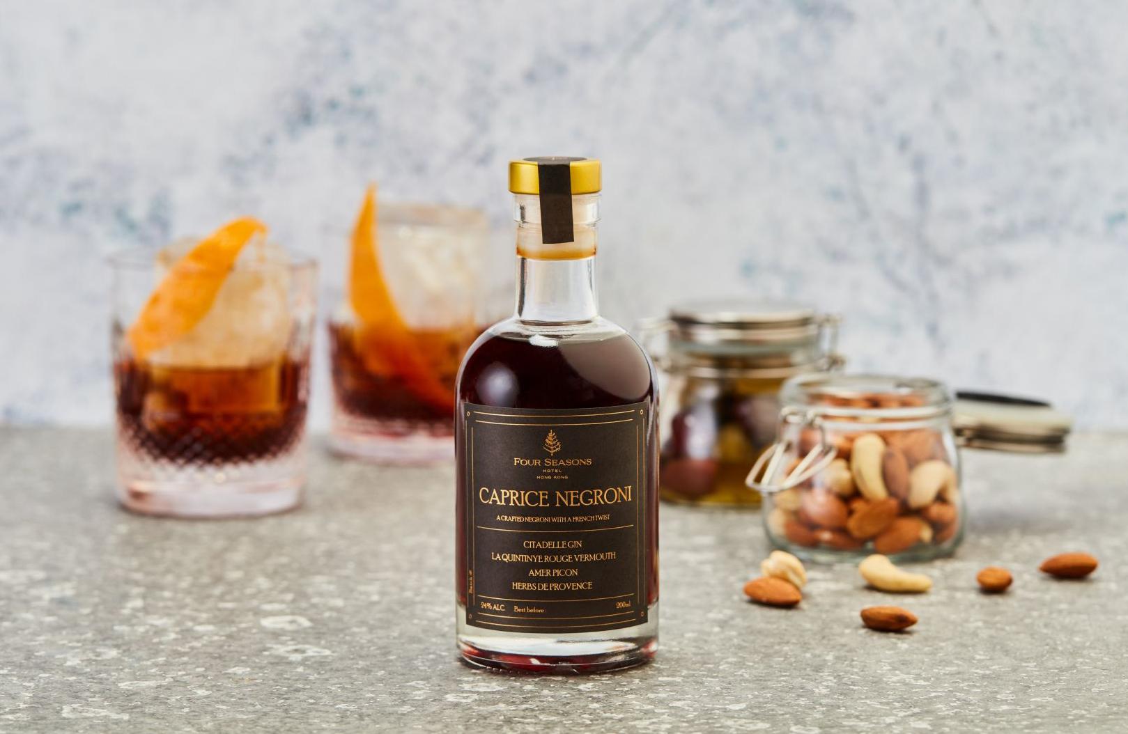 Caprice bottled cocktail