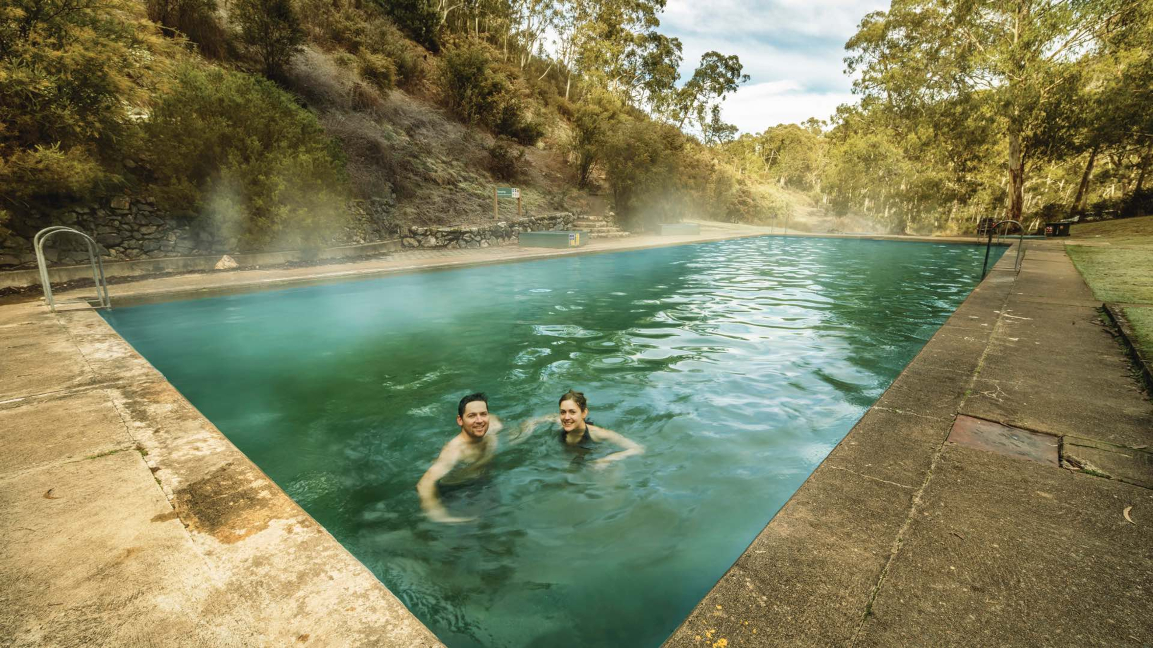 Yarrangobilly Caves Thermal Pool