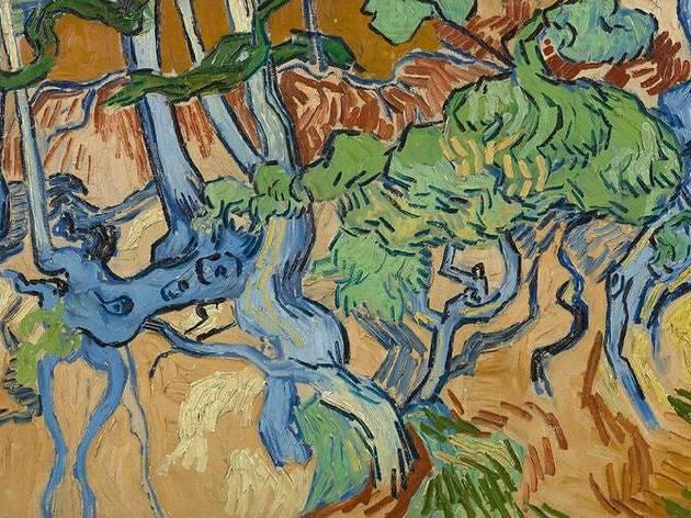 'Raíces del árbol', de Van Gogh