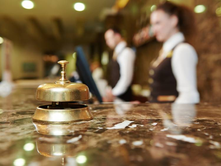 Is it safe to stay in a hotel?