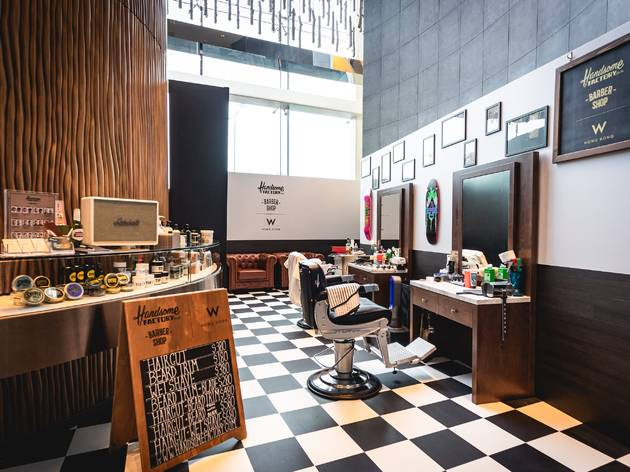 W Hong Kong x Handsome Factory Barbershop