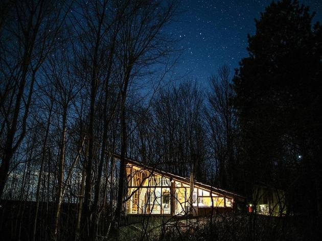 Airbnb: Perched Cabin