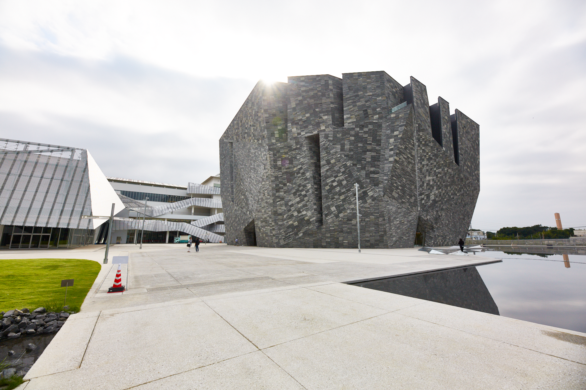 In photos: the new Kadokawa Culture Museum is a modern masterpiece designed by Kengo Kuma