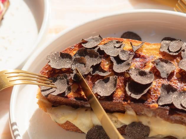 Mayflower truffle toastie