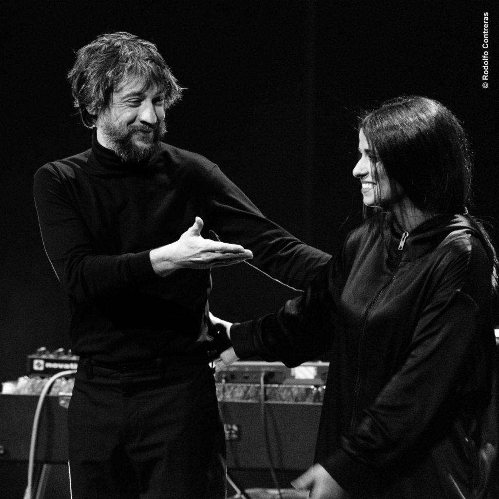 Raúl Refree y Lina
