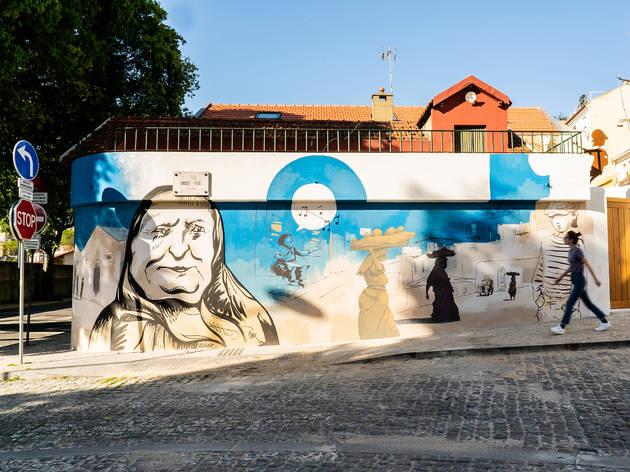 Arte Urbana, Fluvio Capurso, Rua Triste Feia