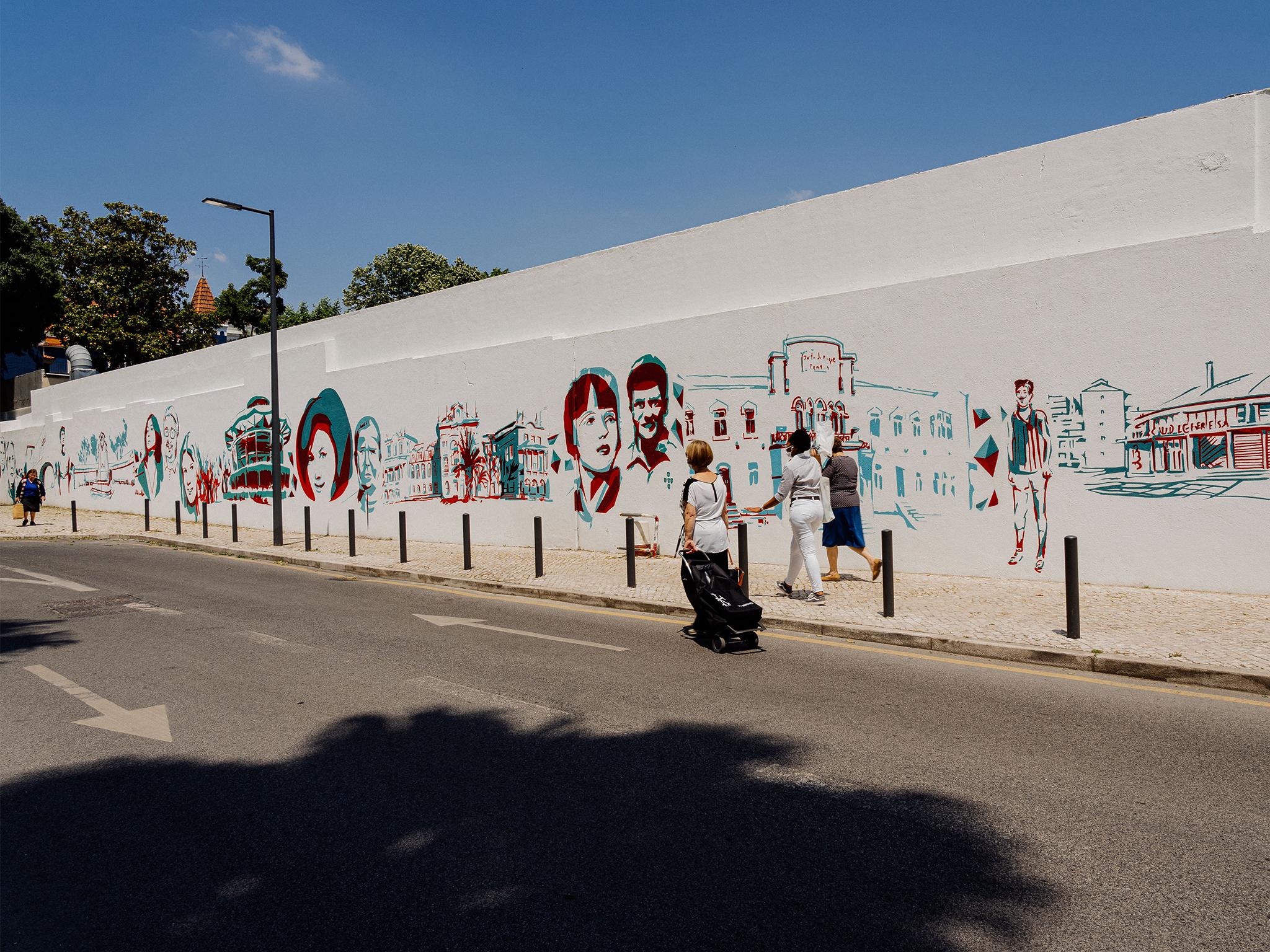 Arte Urbana, Tomás Reis, Edis One e Pariz One, Rua das Garridas
