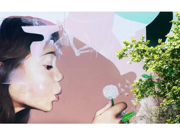 Arte Urbana, Smile1art, Avenida Calouste Gulbenkian