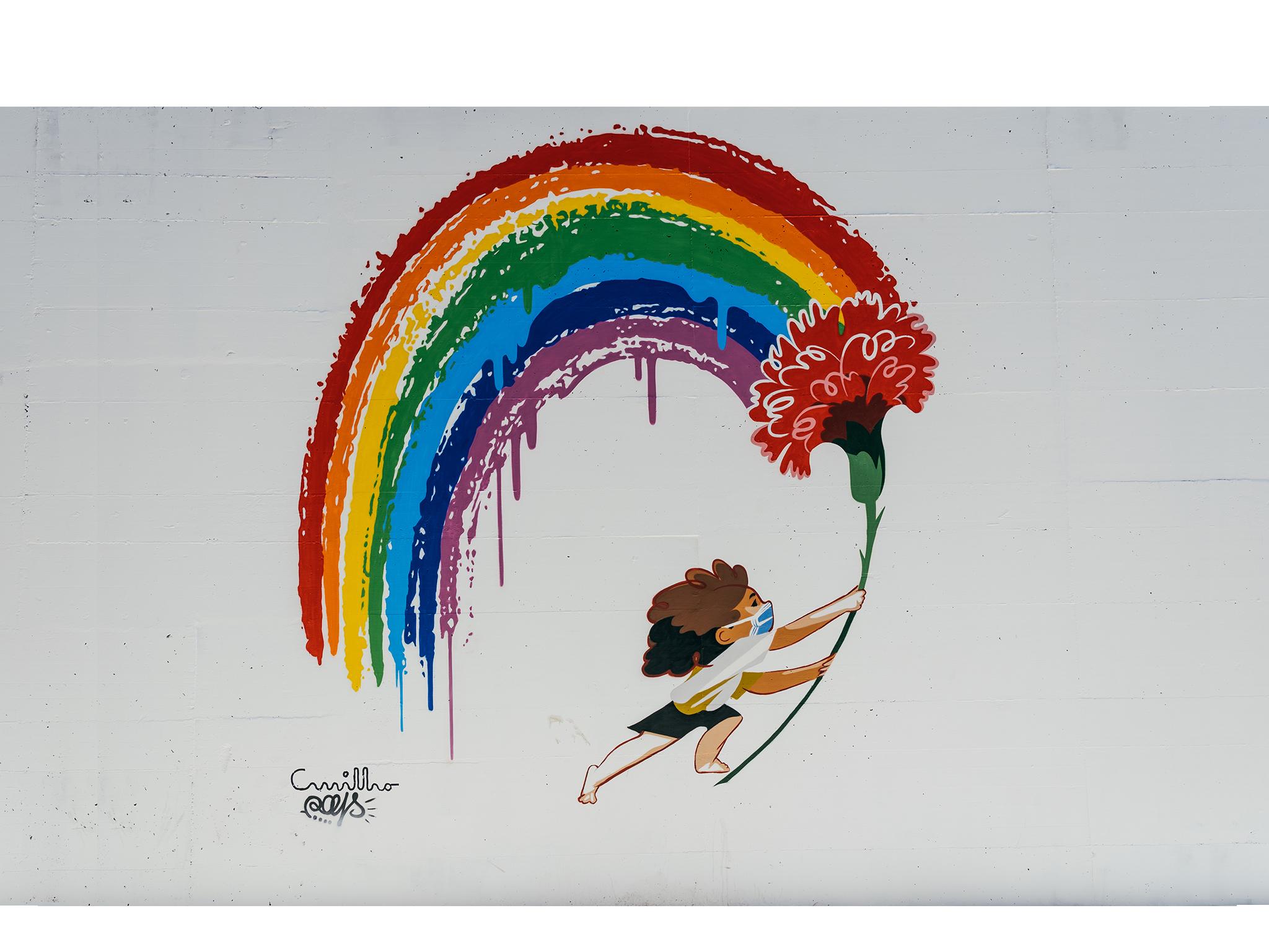 Arte Urbana, André Carrilho, Estação de Sete Rios